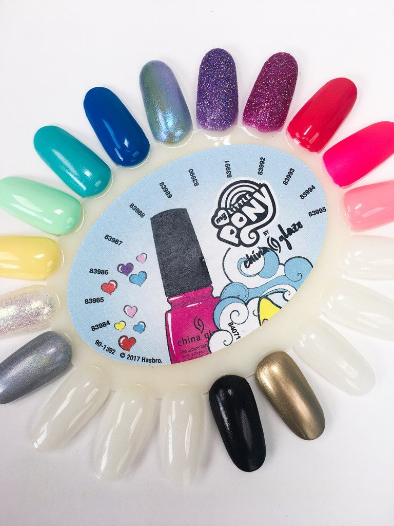 It Here First: Every Polish From China Glaze\'s My Little Pony Collection