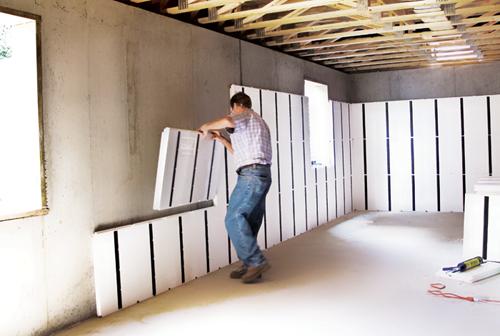 insulating basement walls basement insulation basement ceilings