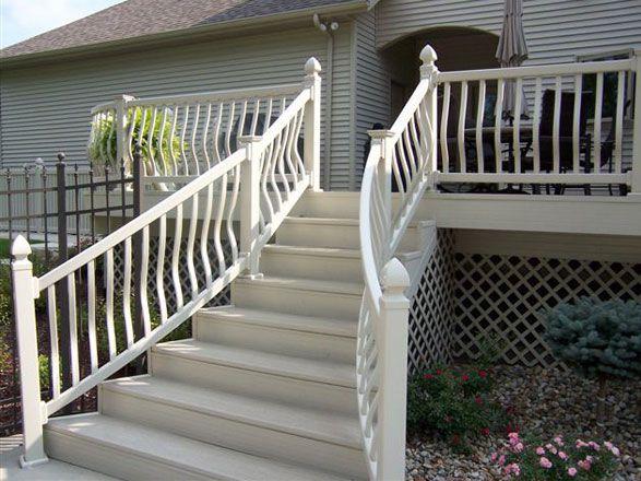Railing | Modern railing, Vinyl railing, Railing