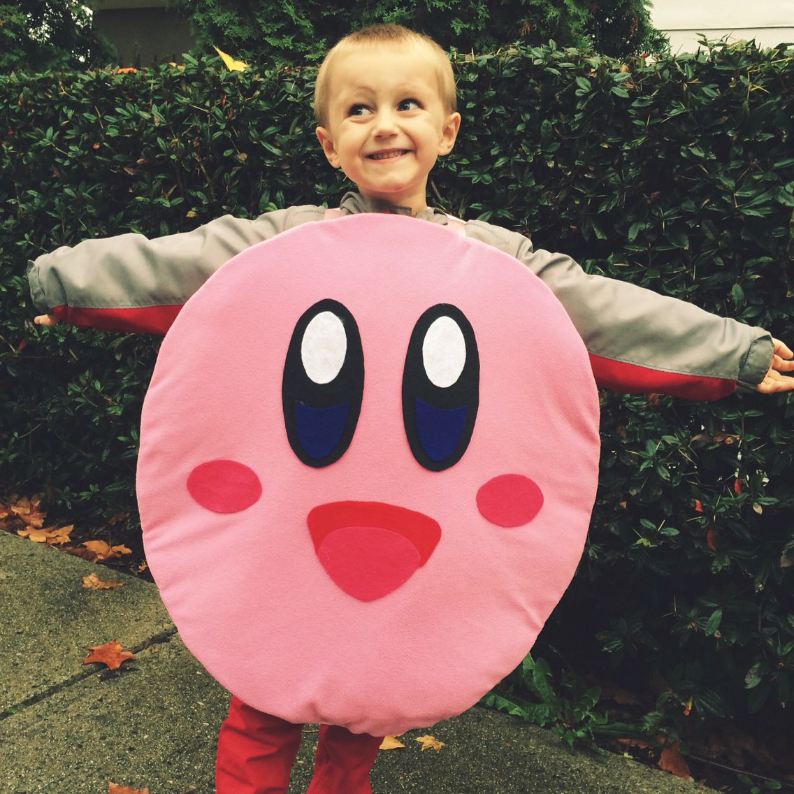 Nintendo Kirby costume I made for my son ️ | Nes ...