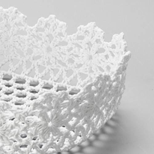 Resultado de imagen de croche em linho | canastas lala | Pinterest ...
