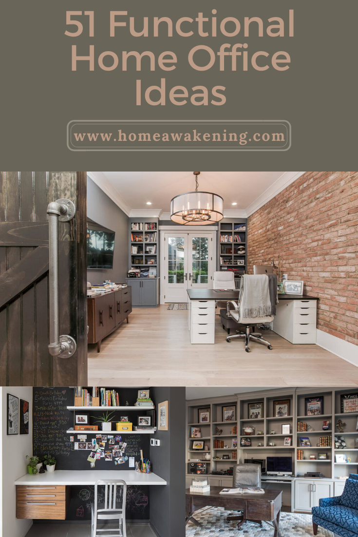 51 Functional Home Office Designs Home Office Design Home Office Office Design