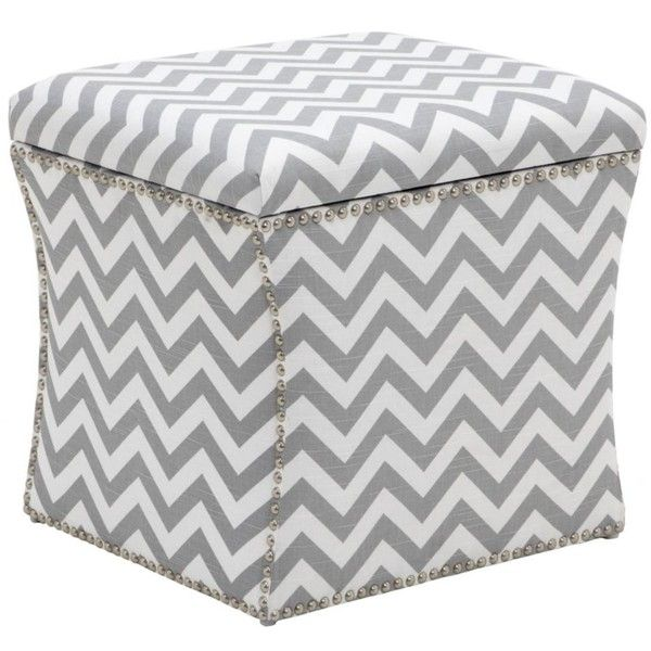 Marvelous Storage Ottoman Zig Zag 249 Liked On Polyvore Ocoug Best Dining Table And Chair Ideas Images Ocougorg