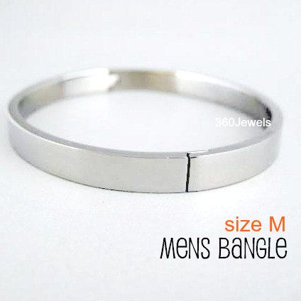 Men S Silver Bangle Bracelets Valorous Steel Bracelet Stainless Accessory For Guys