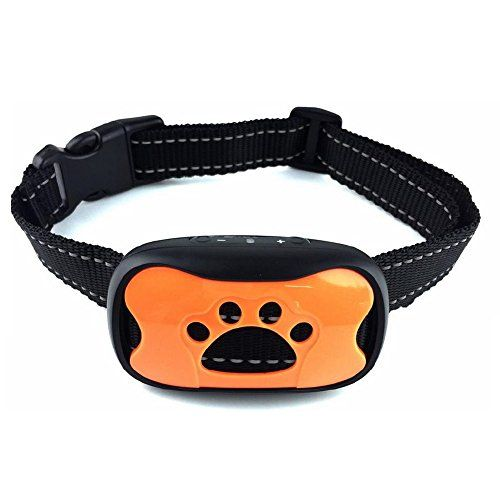 Sonic Bark Deterrents New Design Dog Bark Collar Safe Shock Training Device Antibark For Smallmedium Dogs Best Pet Shock Training Dog Barking Training Collar