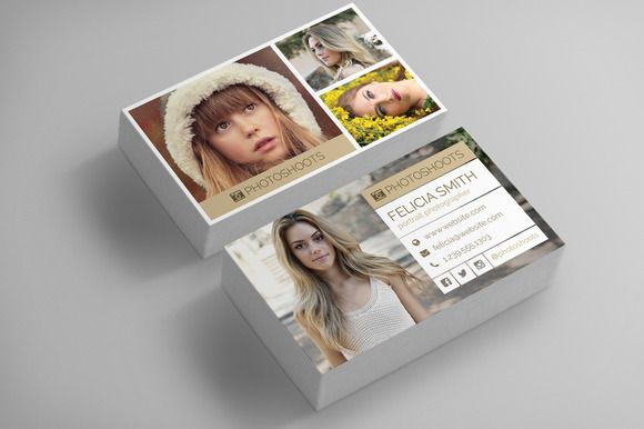 Photographer business card template photographer business cards photographer business card template reheart Images