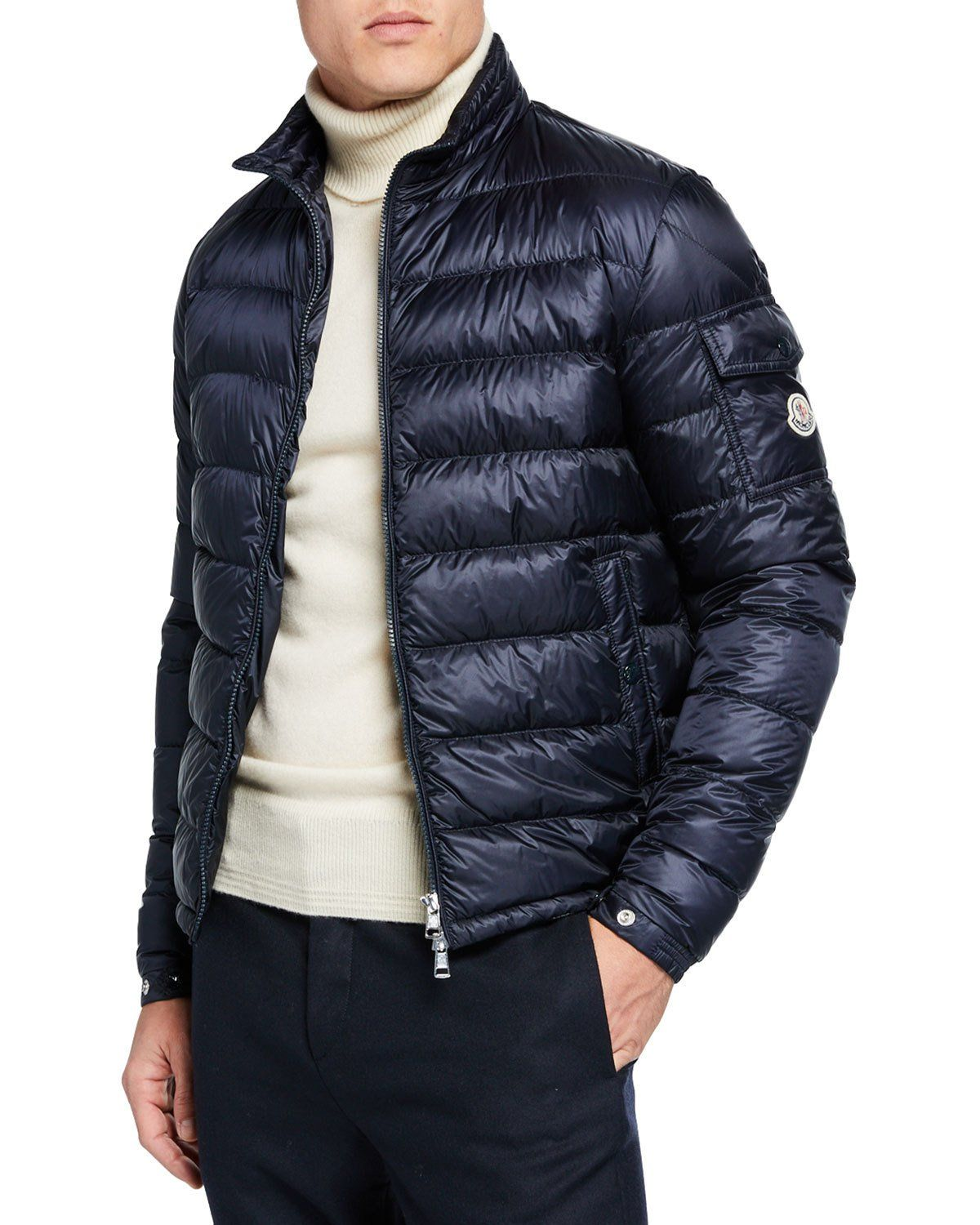 091b40e27 MONCLER MEN'S LAMBOT PUFFER JACKET. #moncler #cloth | Moncler in ...