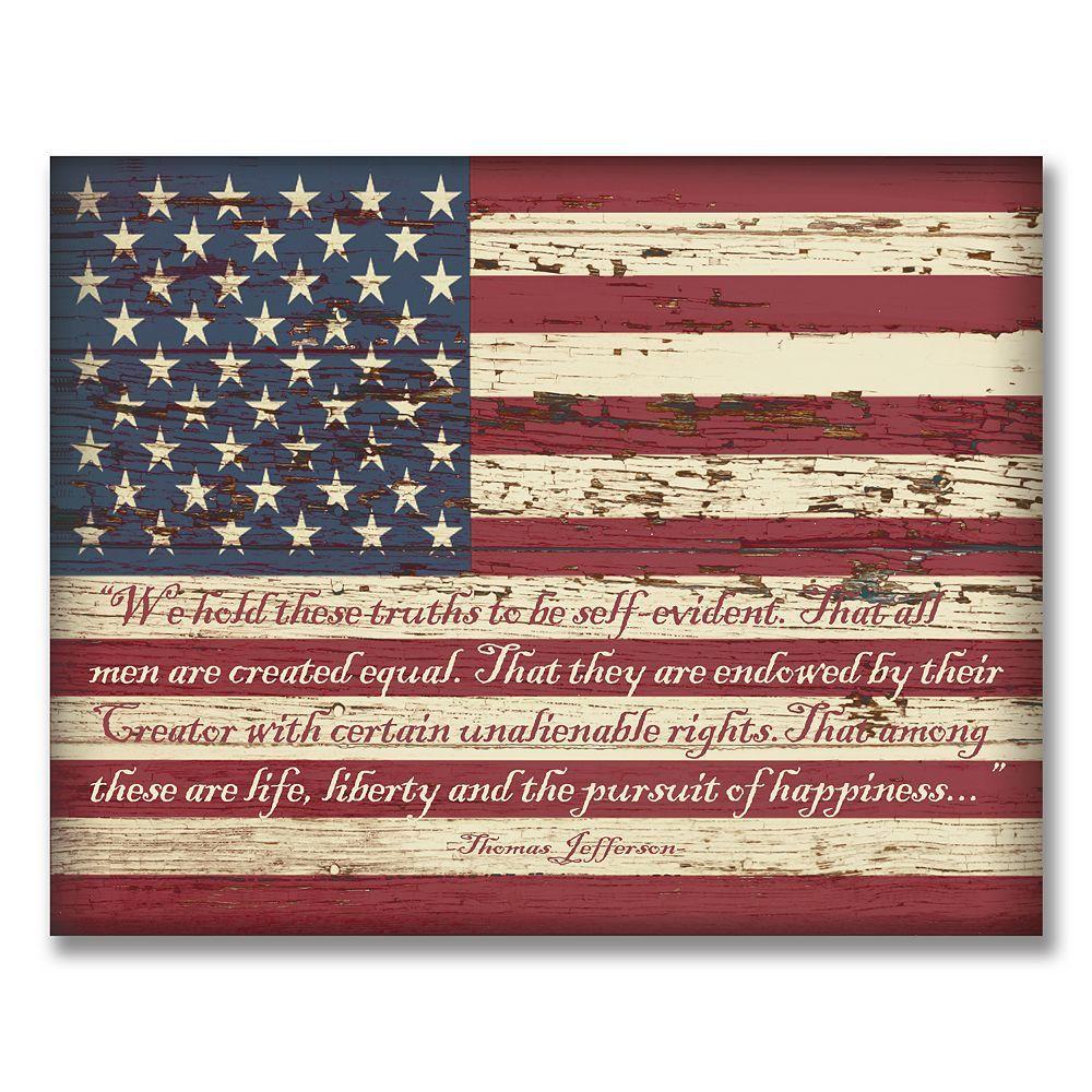 American Flag Wall Art 11 X14 In 2020 American Flag Wall Art American Flag Art American Flag Wood