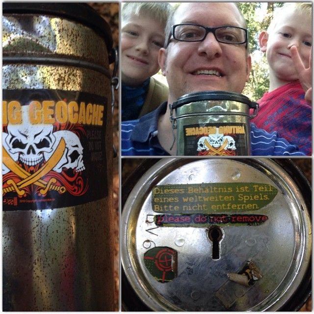 Here's a way to spruce up your geocache - custom cache stickers!  They keyhole suggests it may also be a puzzle cache.