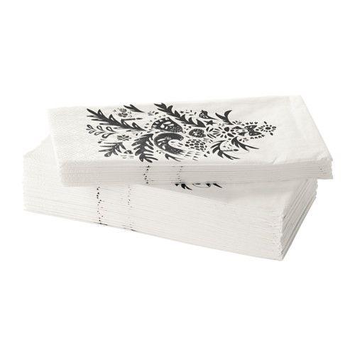 vinter 2016 serviettes en papier ikea table de no l blog pinterest blog et no l. Black Bedroom Furniture Sets. Home Design Ideas