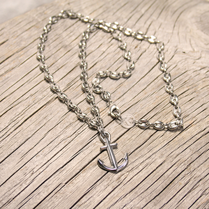 Steel Anchor Necklace