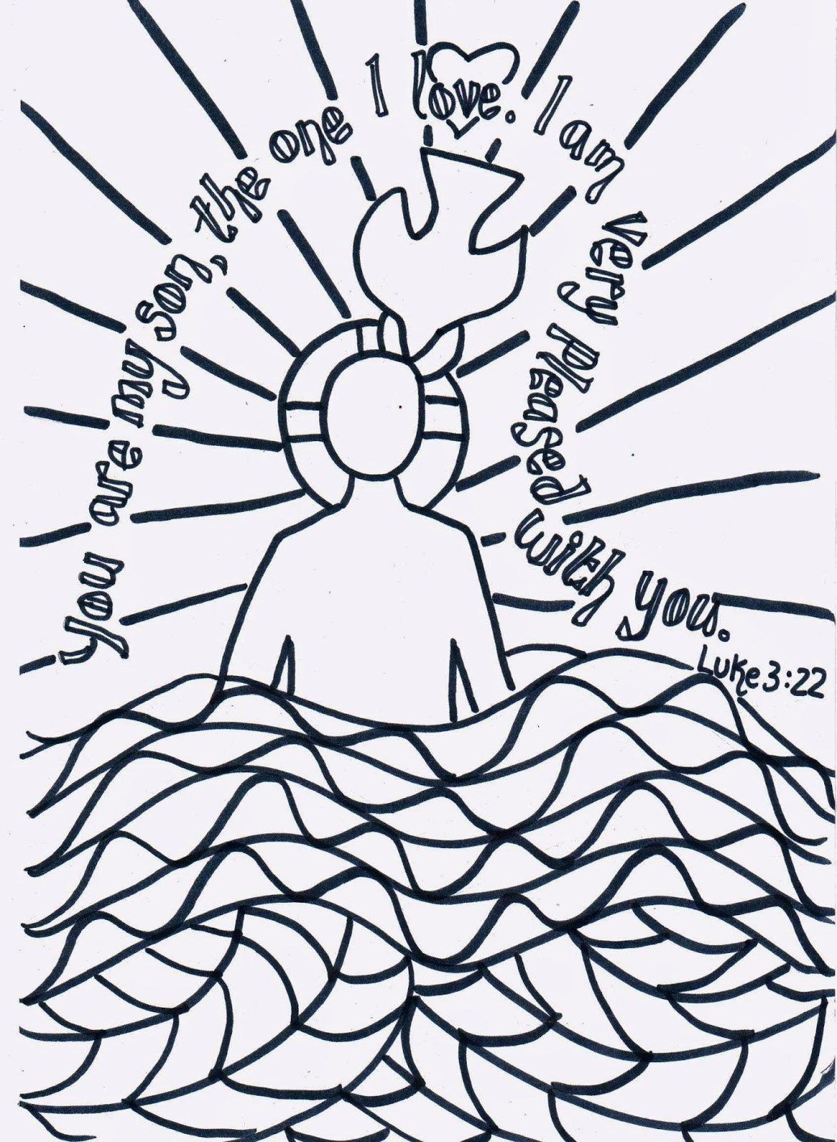 25 Awesome Photo Of Baptism Coloring Pages Davemelillo Com Jesus Baptism Craft Baptism Craft Preschool Bible