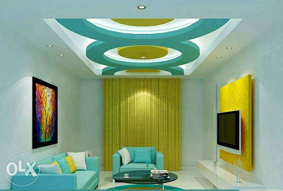 Image result for gypsum work in kerala | living room in 2019