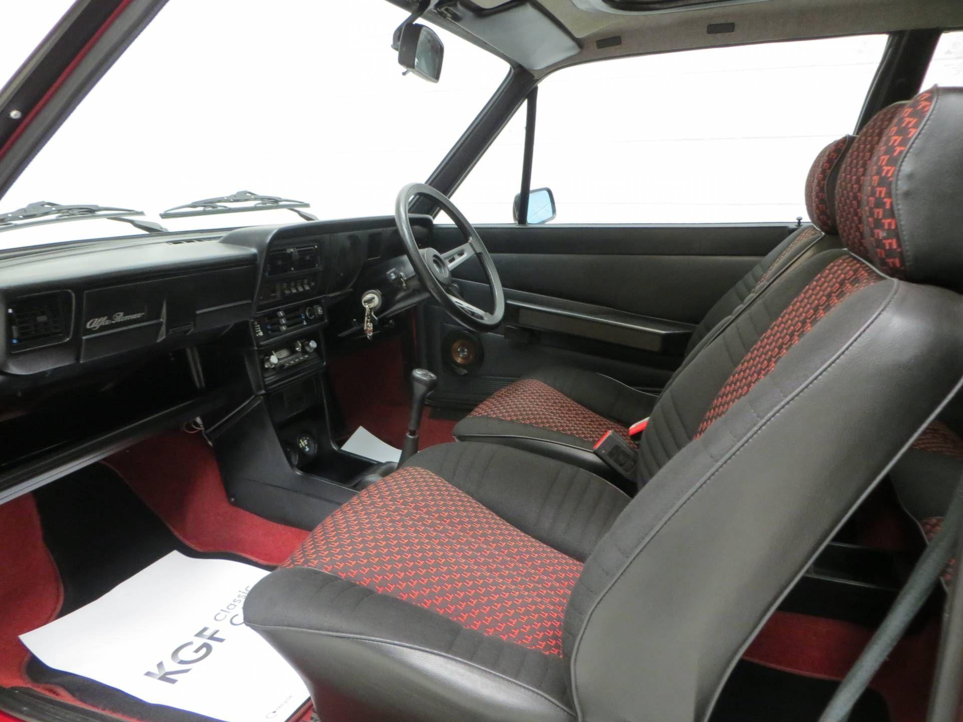 1983 Alfa Romeo Alfasud TI 1.3 | F4, 1,351 cm³ | 86 hp | design ...