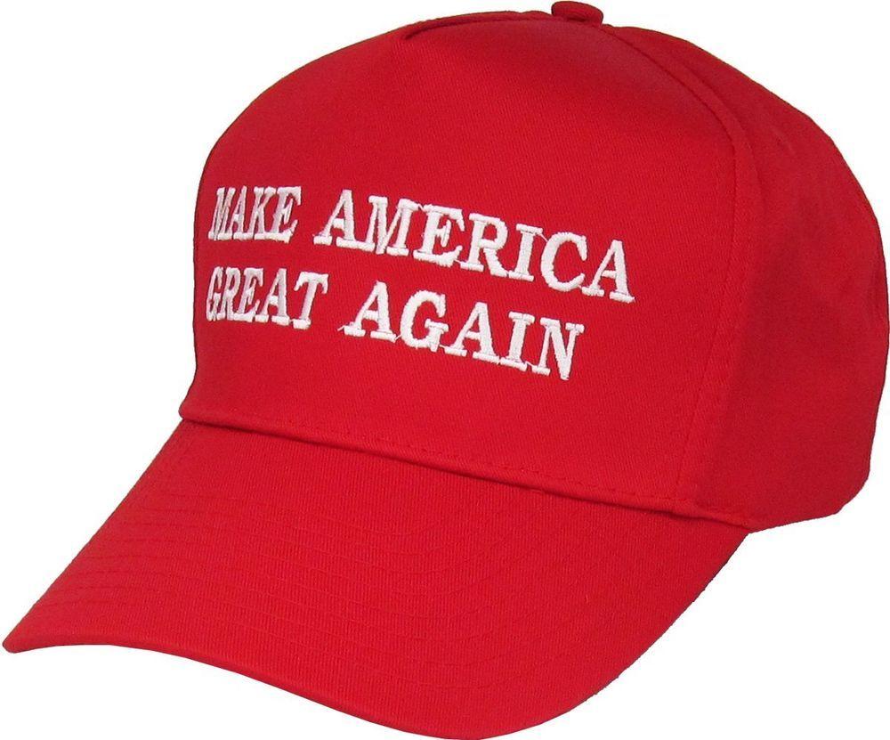 b25508e6b113f Make America Great Again - Donald Trump 2016 Campaign Cap Hat   Red  KBETHOS