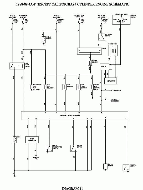 1992 Toyota Corolla Electrical Wiring Diagram And Repair