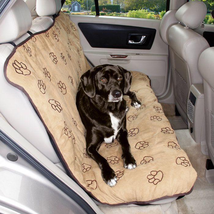 Cruising Companion Pawprint Dog Car Seat Cover