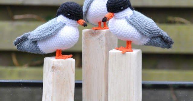 Vogel Seevogel Tierhäkelnanleitungkostenlos Weihnachten