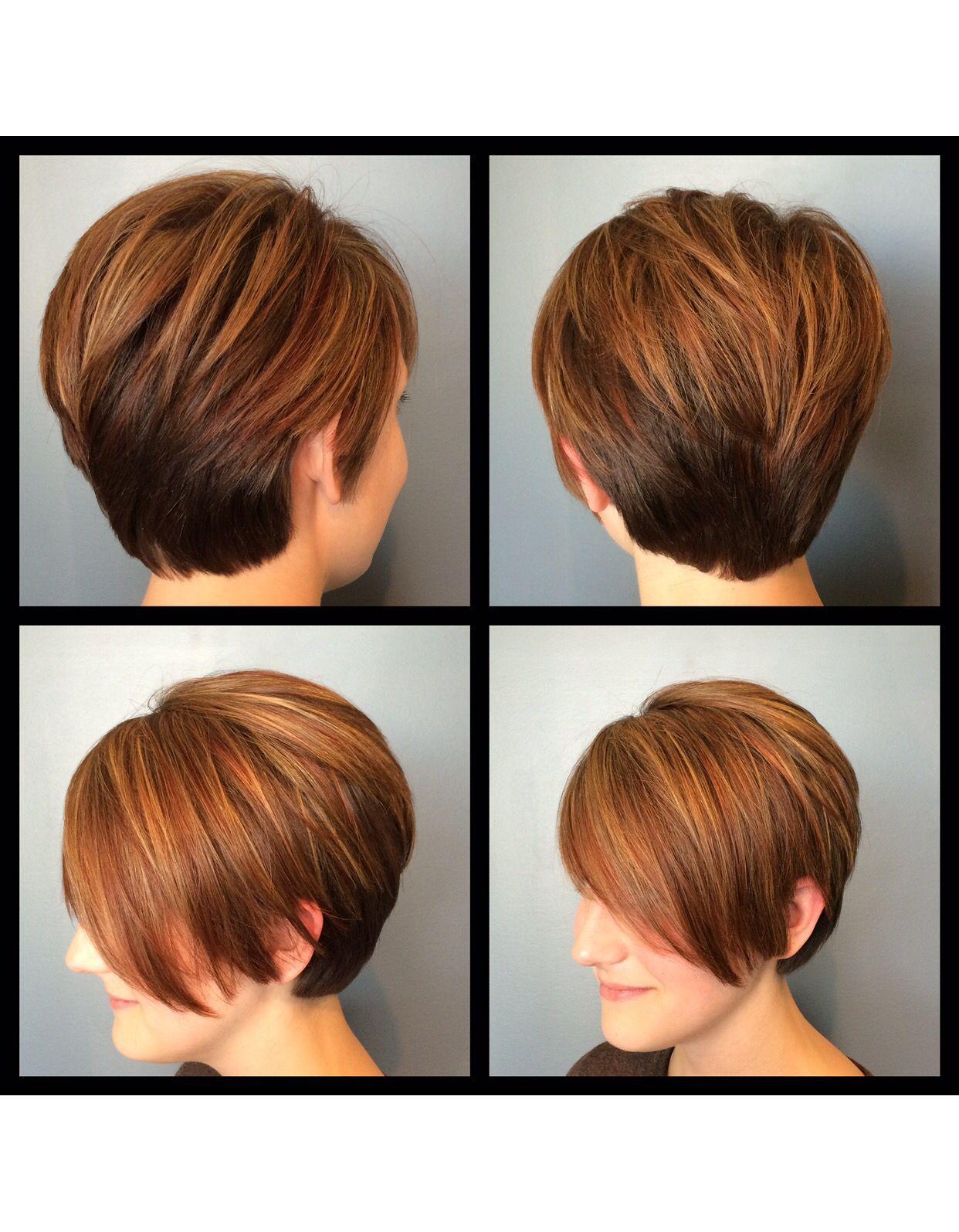 Short hair cut by Leila  Evoke Gallery  Pinterest  Shorter hair