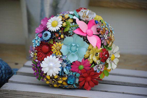 Custom Order Brooch Bouquets by nicolasacicero on Etsy, $110.00