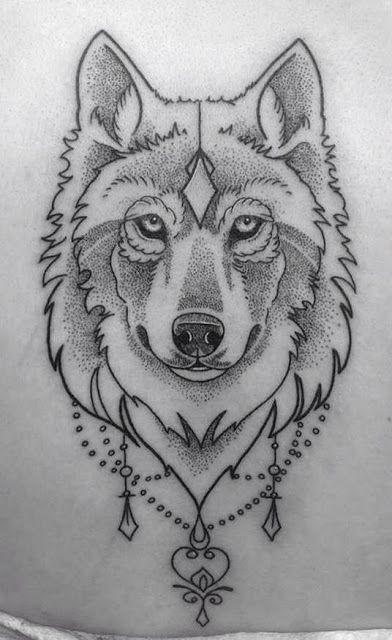 Photo of Tatuagem feminina lobo no braço com inspirações