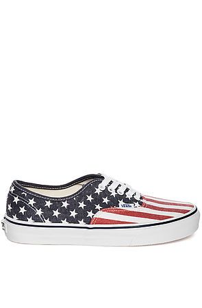 Vans Shoes Authentic Sneaker in Van Doren Stars   Stripes Blue -  Karmaloop.com - casual runner 94c118a0a
