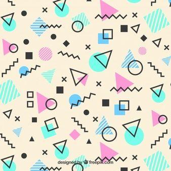 Pin by Kristin Almeida on PATTERN | Memphis pattern, Memphis