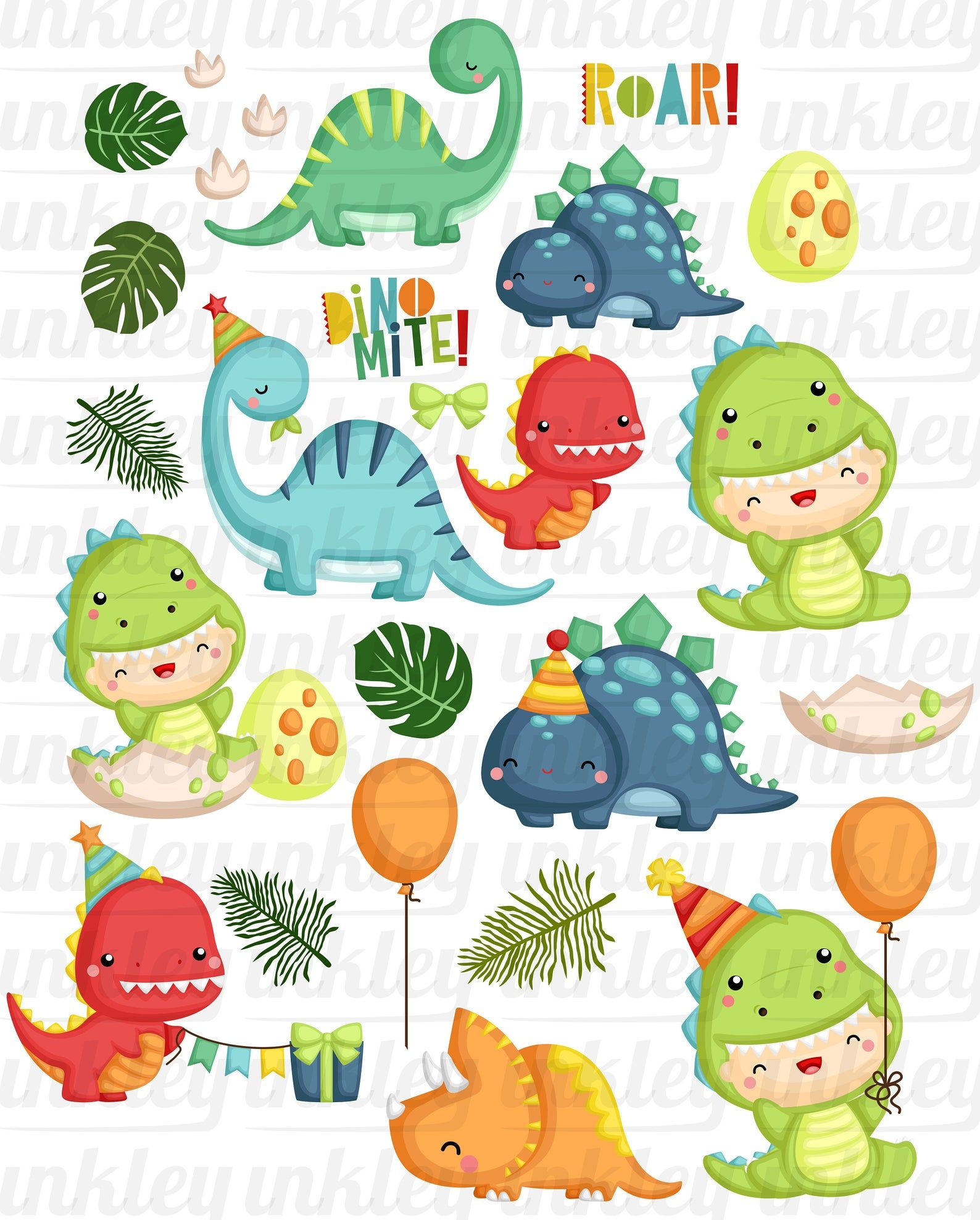 10+ Animal Birthday Party Clipart