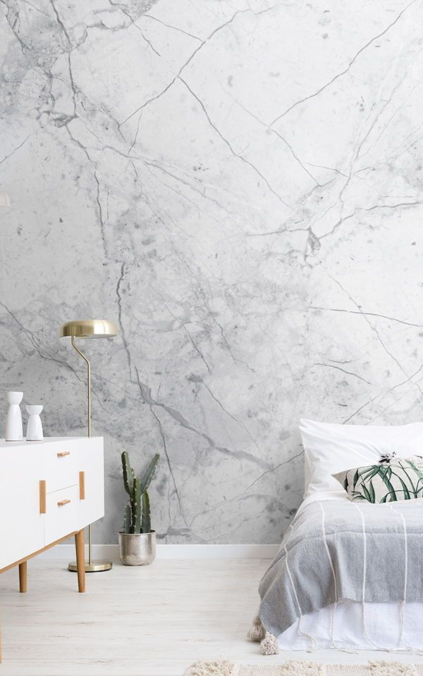 Best Textured White Marble Wallpaper Muralswallpaper Design 400 x 300