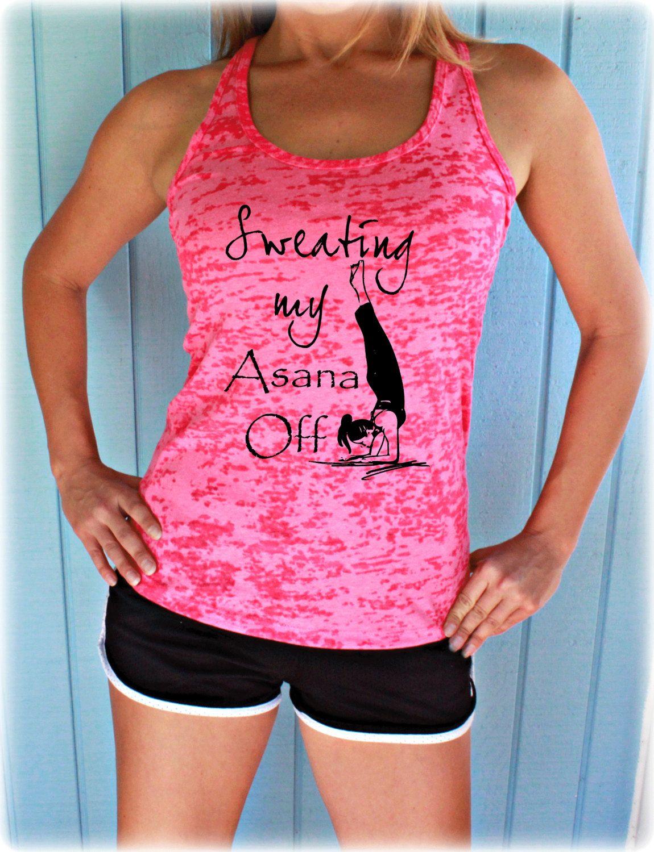 Workout Clothes #Fit Girl Burnout Racerback Tank Top Womens Workout Tank Top