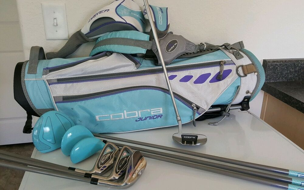 Ad Ebay King Cobra Junior Girl S Lexi Thompson 11 Piece Golf Set Right Handed Golfer Golf Set Golf Golf Pride Grips