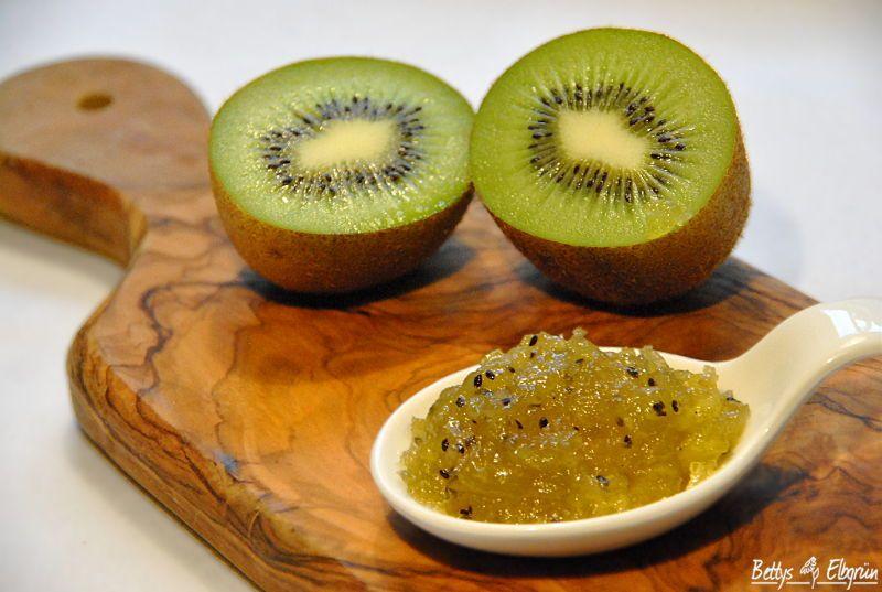 rezept f r eine apfel kiwi marmelade. Black Bedroom Furniture Sets. Home Design Ideas