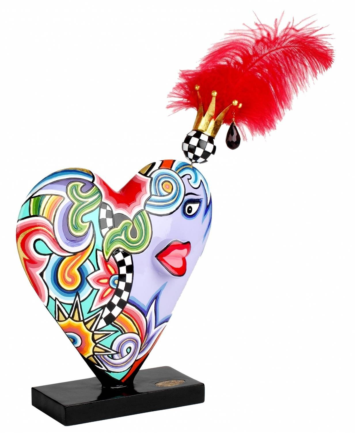 Toms Drag HEART Figure with Feathers XL | Animales