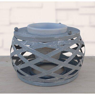 Gracie Oaks Iconium Terracotta Iron Pot Planter | Wayfair.ca
