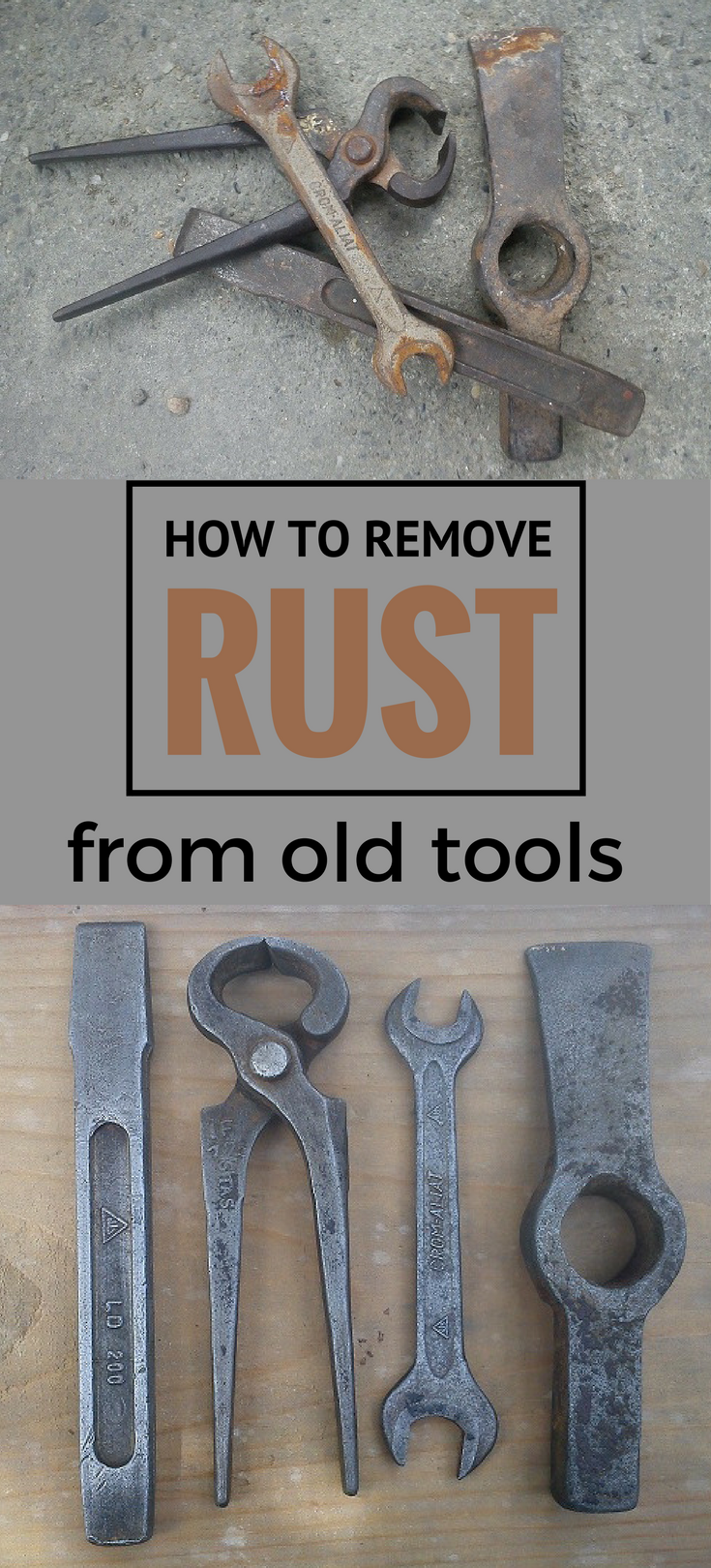 How To Remove Rust From Old Tools Ncleaningtips Com Cleaning