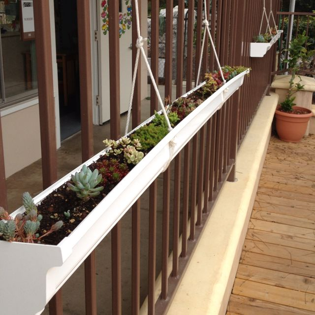 Pin By Jose C On Garden Planting Flowers Small Space Gardening Fence Planters
