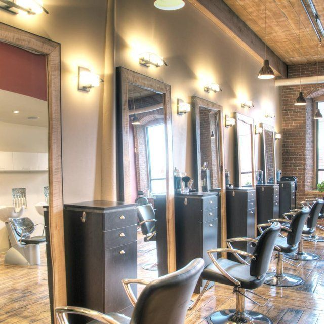 Mirrors At The Serene Aveda Salon #avedasalon Mirrors At The Serene Aveda Salon