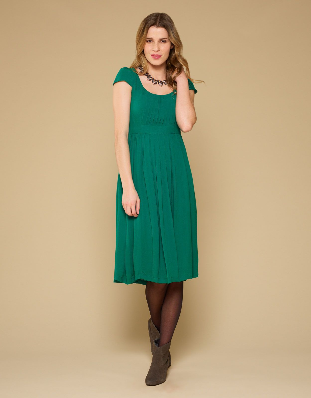 Penny pleat front dress annaus mumus wedding outfit pinterest