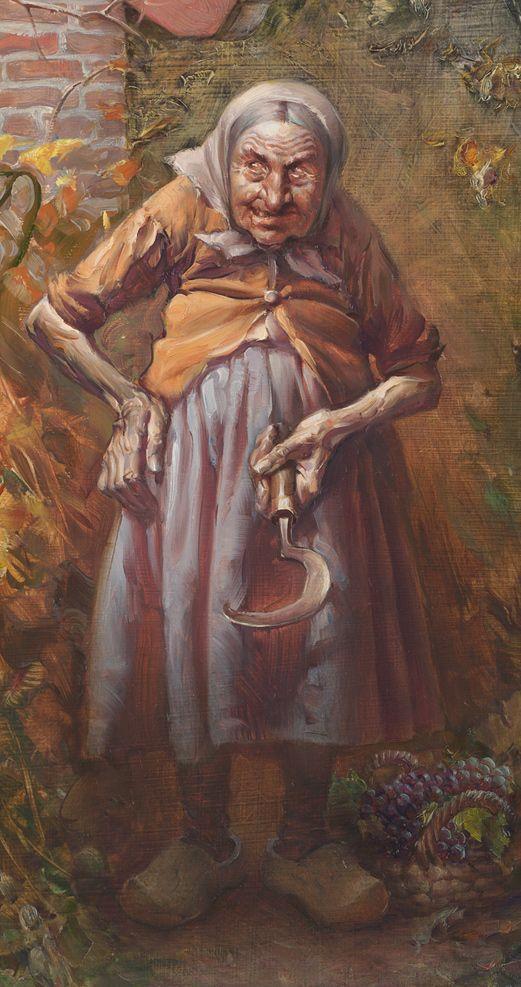 Wahrsagerin Baba Jaga