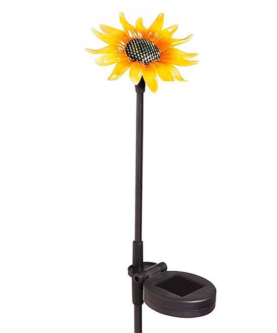 Solar Sunflower Garden Stake Sunflower Garden Garden 640 x 480