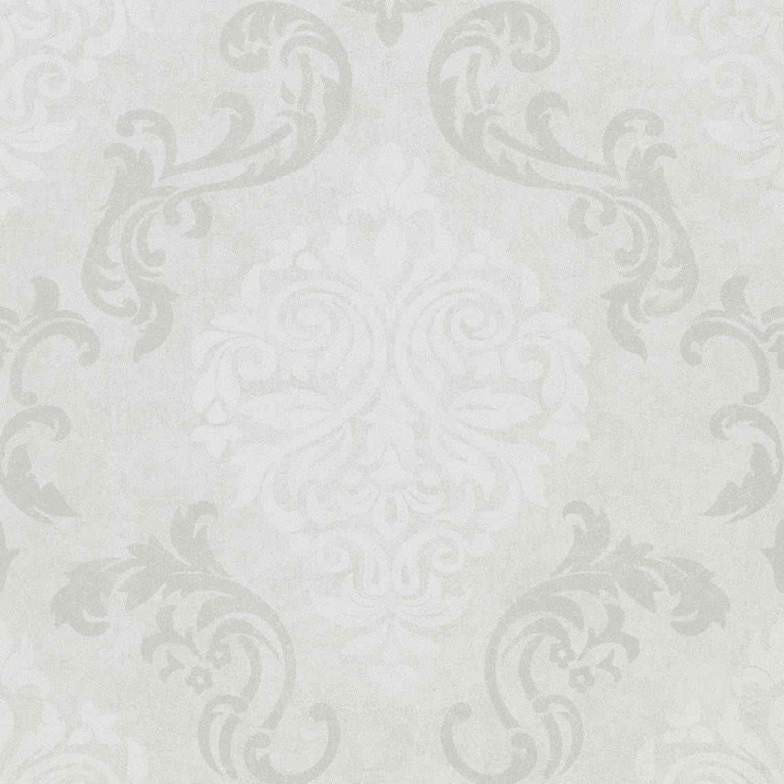 d licieux papier peint gris perle 4 papier peint damask expans sur intiss motif arabesque. Black Bedroom Furniture Sets. Home Design Ideas