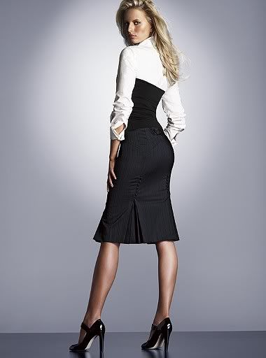 skirt pencil | Love the pleat | Fashion | Pinterest | Sexy, Skirts ...