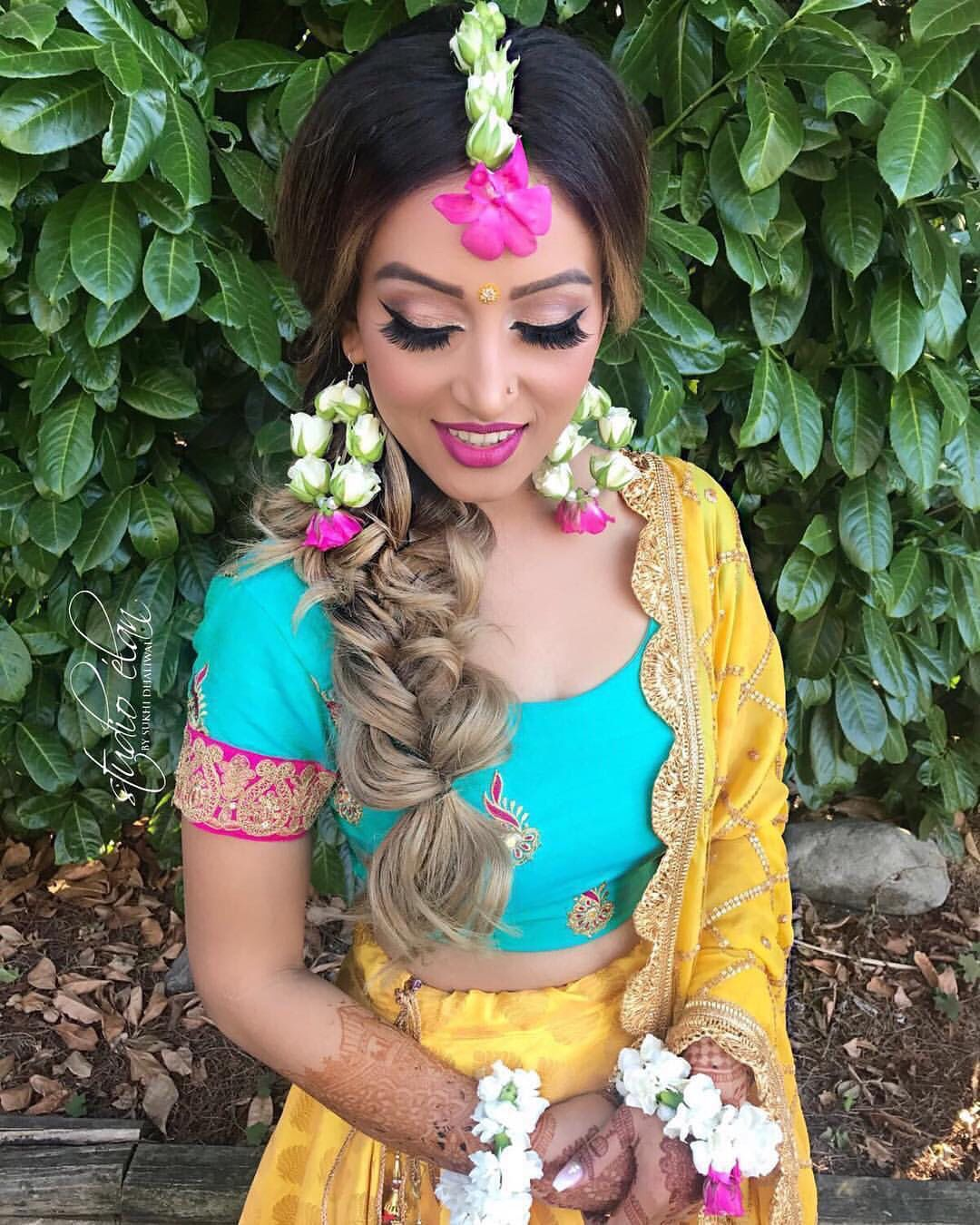 Indian Braids Hairstyle: Pin By Rane Mehta On Wedding Fashion Misc