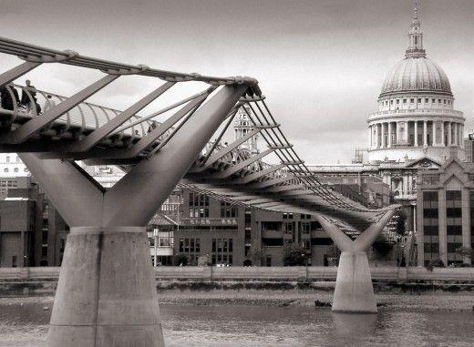 The Top 20 London Attractions Millennium Bridge London Attractions London Bridge