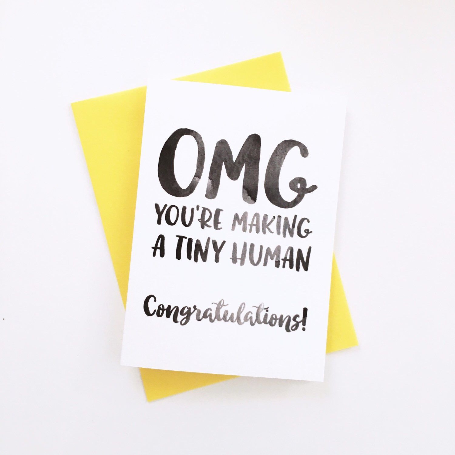 New Baby, Baby Shower, Congratulations Card by HangingWillow on Etsy https://www.etsy.com/listing/185049621/new-baby-baby-shower-congratulations