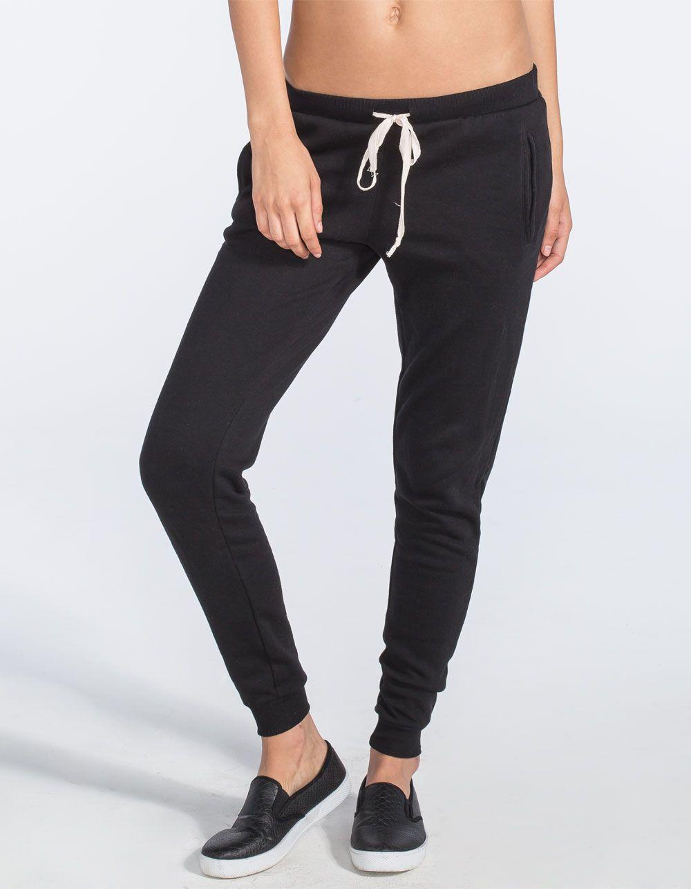 249c1b575251 FULL TILT Fleece Womens Jogger Pants 248723100