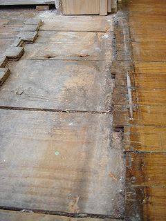 Making A Repair Patch In Thin Hardwood Flooring For The