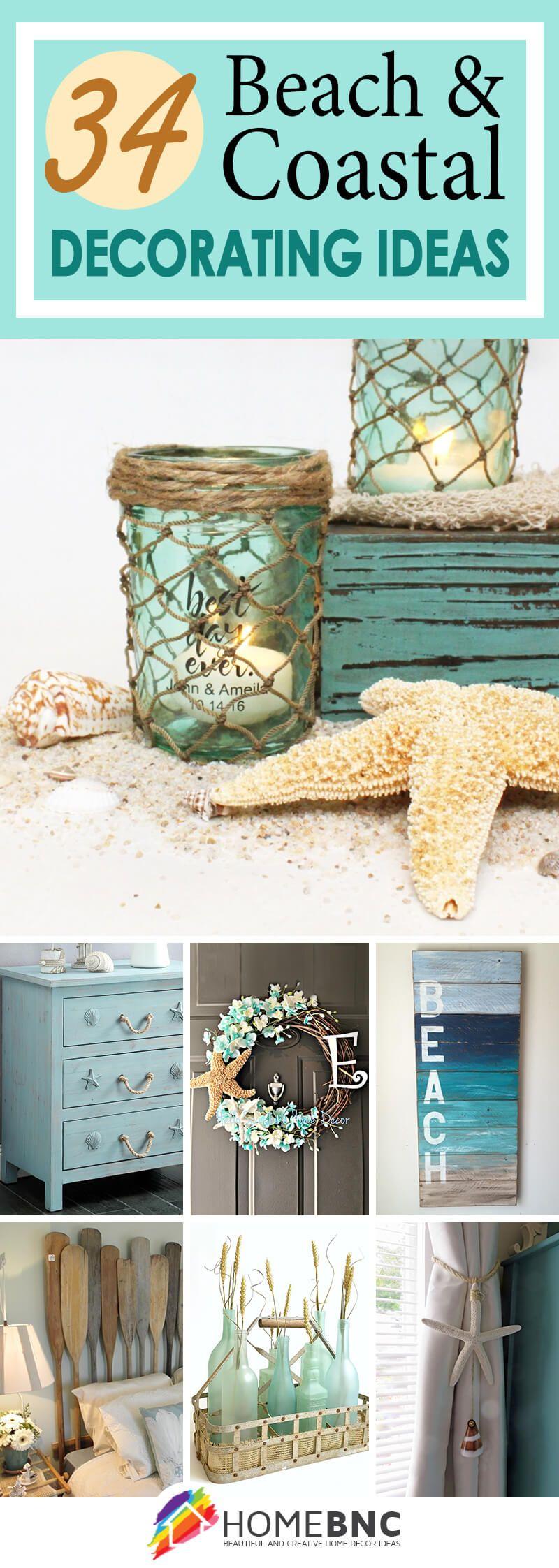 Beach Theme Decor Ideas Part - 23: Beach And Coastal Decorating Ideas