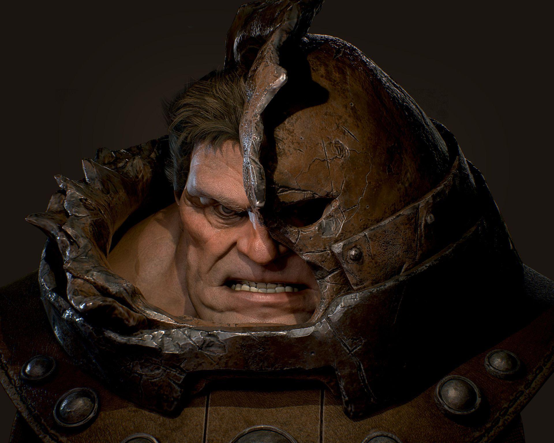 ArtStation - Damaged Juggernaut, Otavio Liborio | Marvel villains, Comic  face, Juggernaut marvel