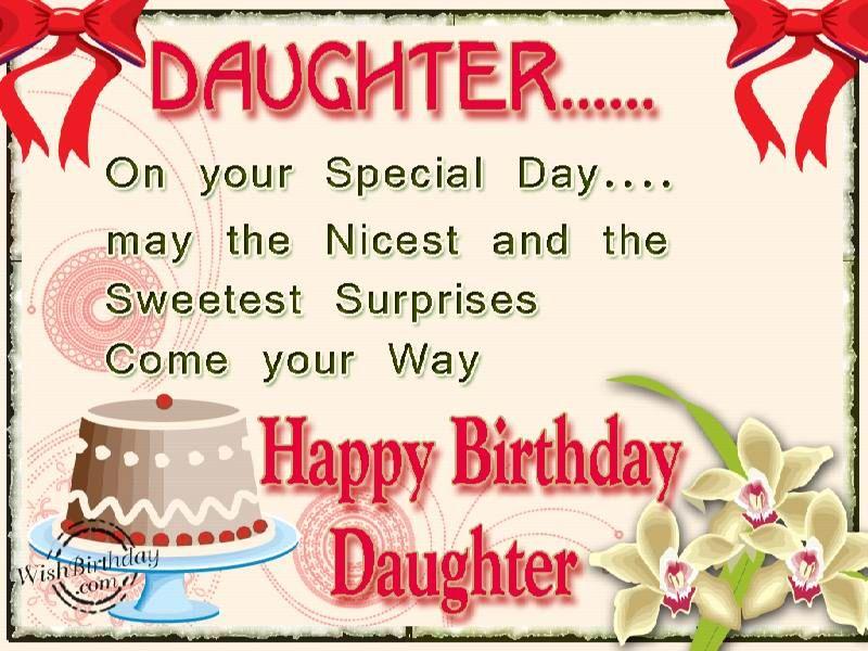 Pinterest Birthday Quotes: Happy Birthday Sweet Daughter